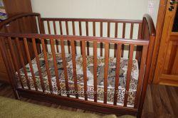 Детская кроватка Pali с матрасом, бортиками и постельным комплектом