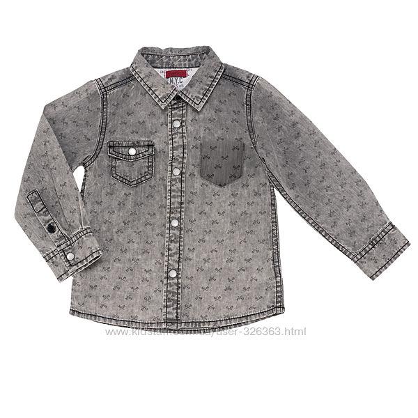 Рубашка Chicco имитация джинса
