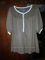 Очень легкая фирменная туника блузка