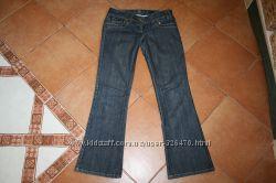 Продам джинси  на дівчинку 158-164см, розмір 8 34 норм. стан, заміри по за