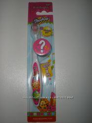 Brush Buddies  Shopkins, зубная щетка, набор для путешествий, мягкая