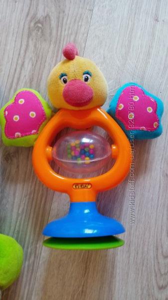 игрушки  петушок Ks Kids на столик, гусеничка Joy Toy