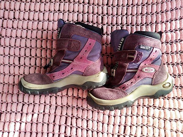сапоги ботинки Ecco для двора