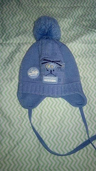 шапка  фирмы Барбарас на малыша и рукавички