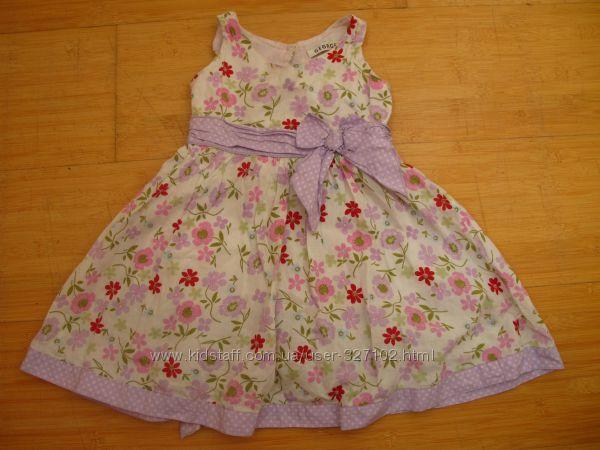 Милое летнее платьеце на рос 92-104 см