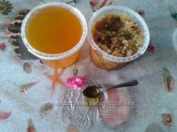 Мёд и забрус со своей пасеки. Сбор 2018 года