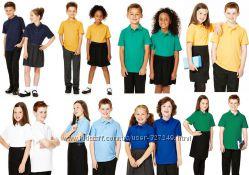 Футболки-поло в школу Англия Цвет в ассортименте