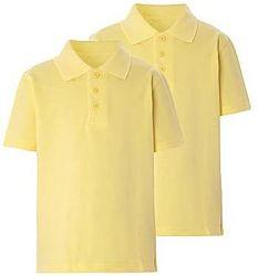 Жёлтые футболки-поло в школу George Англия