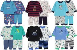 Симпатичные пижамки для мальчиков George Англия большой выбор