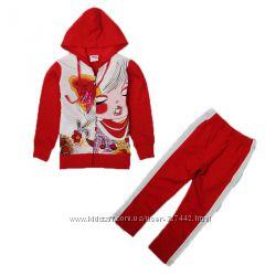 Спортивный костюм TM Nova красный