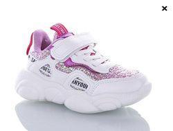 крутые кроссовки для девочек, 15, 5-18, 5 см, 56-2 фуксия