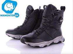 Классные зимние ботинки кроссовки девочке ТМ Клиби Clibee A-86 р.32-37