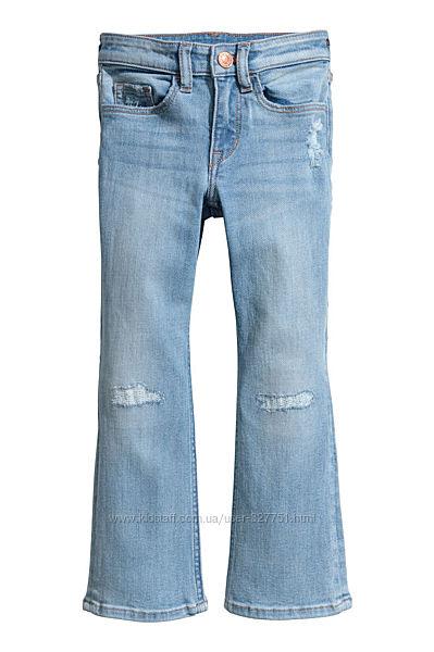 Джинсы H&M 5-6 лет, 110-116 см рост, новые, с бирками