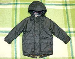 Демисезонная куртка - парка  Next Некст  на 2-3 года