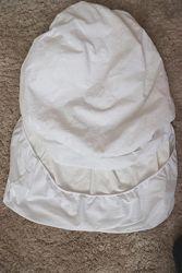 Простынь-наматрасник непромокаемая махровая детская 60x120 на резинке