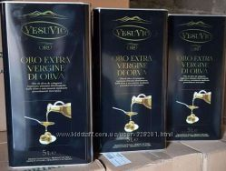 Масло Оливковое 5л Extra Virgine di Oliva VESUVIO