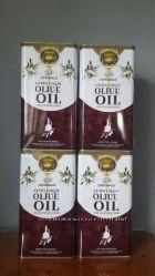 масло оливковое. Производство Греция холодного отжима 5 литров