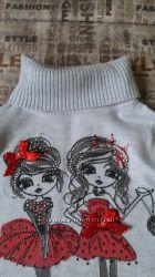 свитерок на девочку в идеальном состоянии
