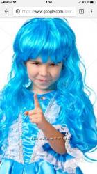 парик. 70см. для детей и взрослых. для праздников