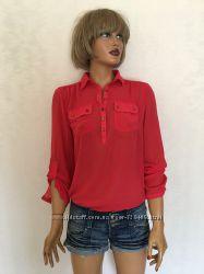 Новая красная блуза Atmosphere доставка за мой счёт