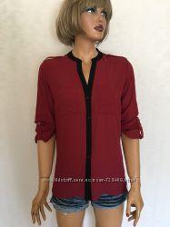 Новая блуза винного бордового цвета primark