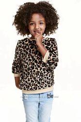 Кофты плюшевые для девочки. H&M