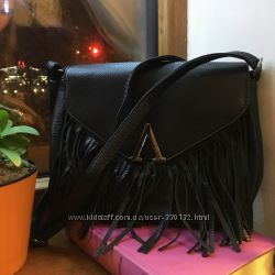 Модная сумочка  с бахромой crossbody, модель 2018