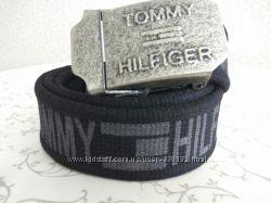 Ремень под джинсы. Текстильные ремни стропа Tommy Hilfiger, Цена Снижена