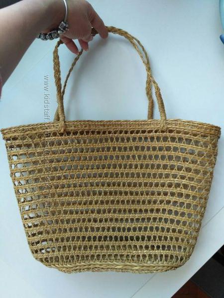 Соломенная сумка кошелка Artexport Вьетнам, бамбук