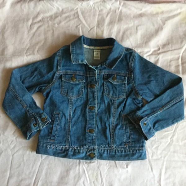 Джинсовый пиджак carters