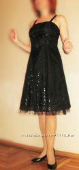 504. Платье нарядное Orsay с блестками 46 р. М-ка