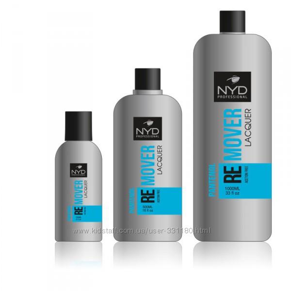 Жидкость для снятия лака с пантенолом NYD Remover Lacquer, 500 мл.