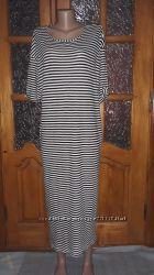 Легкое платье ZARA EUR L, длина макси, открытая спина и много других