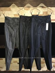 Модные брюки-бананы в полоску Новинка