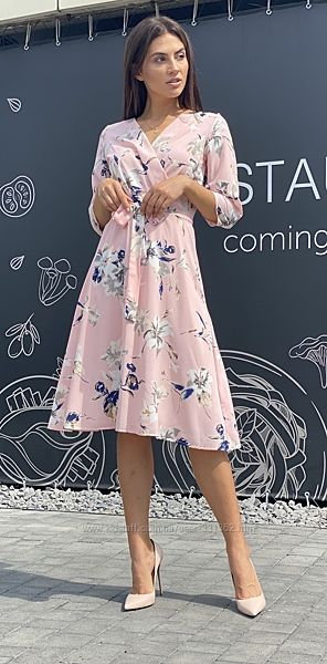 Платье в цветок Новинка