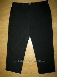 Новые черные штаны брюки George W44 L29, баталы