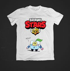 Детская футболка Brawl Stars Спраут Sprout