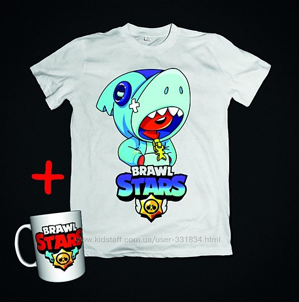 Набор Brawl stars футболка и чашка