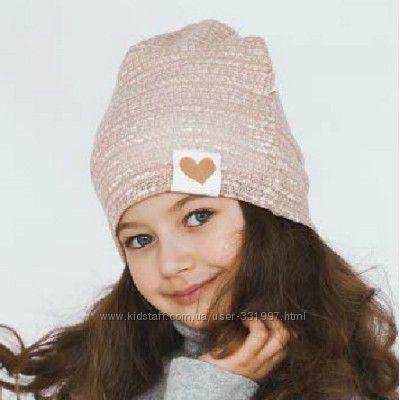 Шапка для девочки Бетти ТМ Дембохаус, размер 50, 52