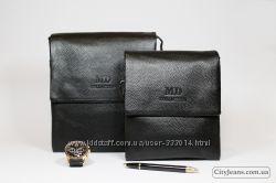 42085a4649f8 Кожаная барсетка с фирменным логотипом MD Collection, 1300 ...