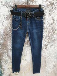 Dsquared Темно-синие джинсы новая коллекция