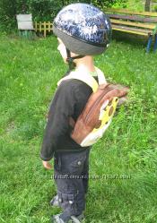 Рюкзачок детский плюшевый мягкий с мордочками животных