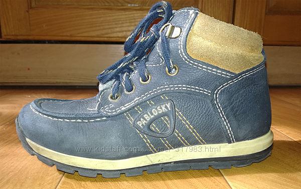 Ботинки кожаные Pablosky, демисезон, 31 р