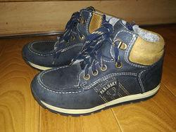 Кожаные ботинки деми, холодная осень Pablovsky 31 р.