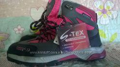 Ботинки  для девочки, деми-зима, новые, Австрия, Tex-membrane, размер 32