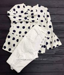 Женские белые брюки скинни, с прорезями, Италия