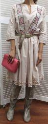 Женское платье в этническом стиле, Италия, скидка