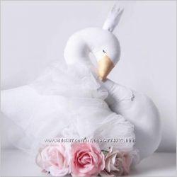 Лебедь подушка-игрушка