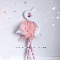Фламинго подушка-игрушка