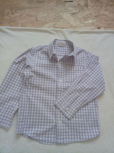 Рубашки первокласснику 116р.